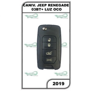CANIVETE JEEP RENEGADE 03BT+ LUZ OCO - 2019