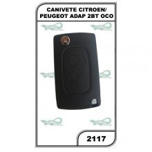 CANIVETE CITROEN/PEUGEOT ADAPT 2BT OCO - 2117
