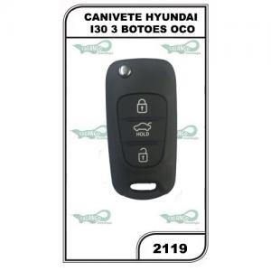 CANIVETE HYUNDAI I30 3 BOTOES OCO - 2119