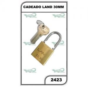 CADEADO LAND 30MM - 2423
