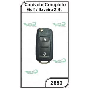 Canivete VW Golf e Saveiro G5 02 Botões - 2653