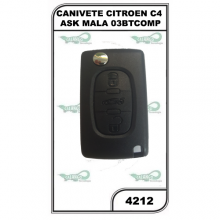 CANIVETE CITROEN C4 FSK MALA 03BTCOMP. - 4212