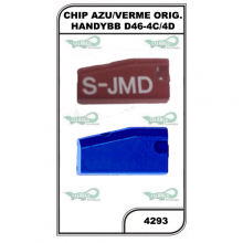 Chip Azul ou Vermelho Original Handy Baby D46-4C/4D e G - 4293
