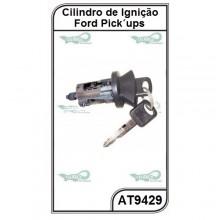 Cilindro de Ignição Ford F250, F350, F4000, Ranger e Explorer com Chave - AT9429