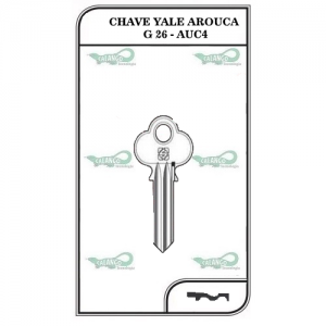 Chave Yale Arouca G 26 - AUC4