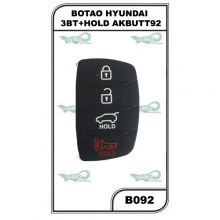 BOTAO HYUNDAI 3BT+HOLD AKBUTT92 - B092