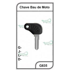 Chave Bau De Moto G 835 - 835PVC