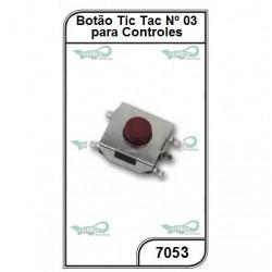 Micro Chave para Controles N 3 10un. - 7053