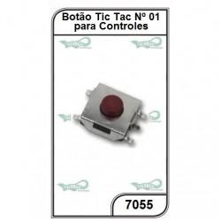 Micro Chave para Controles N 1 10un. - 7055