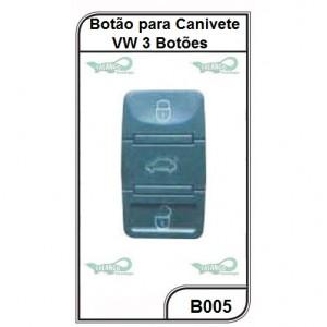 Botão para Canivete VW 3 Botões - B005