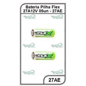 Bateria Flex 27AE 12V 5 unidades - 27AE