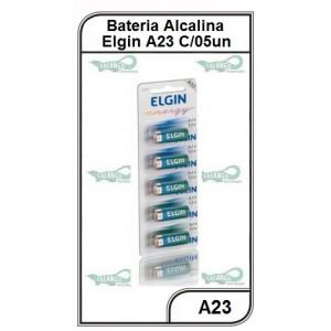Bateria Elgin Alcalina A23 5 unidades - A23