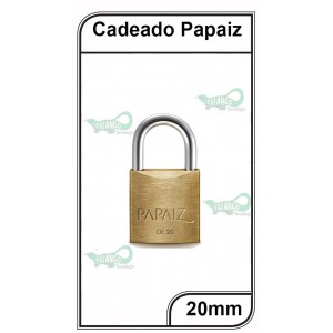 Cadeado Papaiz 20mm - P-20