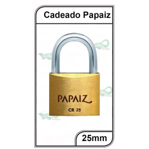 Cadeado Papaiz 25mm - P-25