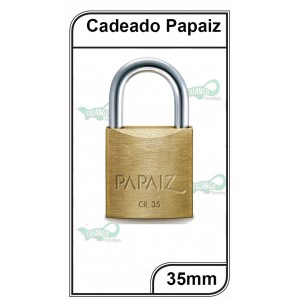 Cadeado Papaiz 35mm  - P-35