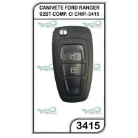 CANIVETE FORD RANGER 02BT COMP. C/ CHIP.-3415