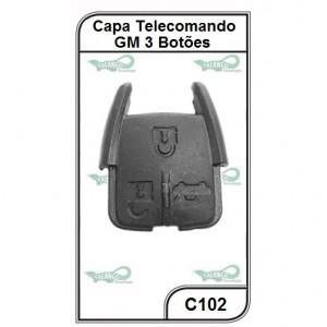 Capa Telecomando GM Vectra após 06, Agile, Montana 3 Botões - C102