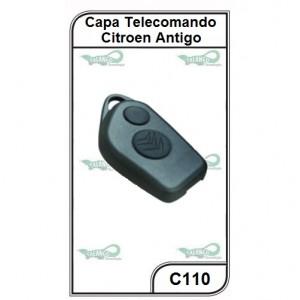 Capa Telecomando Citroen Antiga 2 Botões - C110