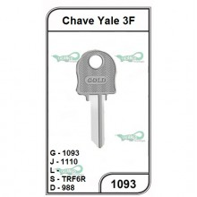 Chave Yale 3F G 1093