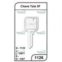 Chave Yale 3F G 1126