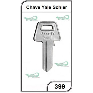 Chave Yale Schier G 399 - PACOTE COM 10 UNIDADES