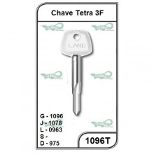 Chave Tetra 3F G 1096 - 1096T