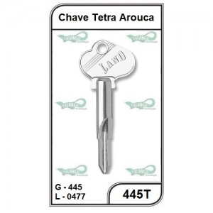 Chave Tetra Arouca G 445 - 445T