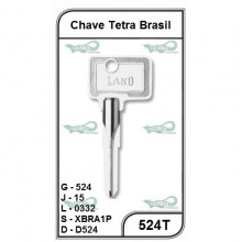 Chave Tetra Brasil G 524 - 524T