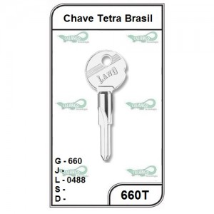 Chave Tetra Brasil G 660 - 660T