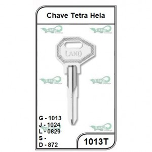 Chave Tetra Hela G 1013 - 1013T