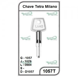 Chave Tetra Milano G 1057 - 1057T