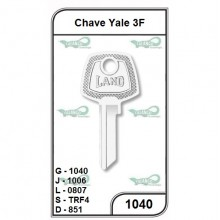 Chave Yale 3F G 1040