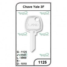 Chave Yale 3F G 1125