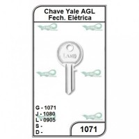Chave Yale AGL G 1071 - 1071 - PACOTE COM 10 UNIDADES
