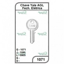 Chave Yale AGL G 1071 - 1071