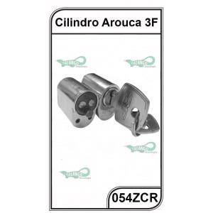 Cilindro Arouca 3F Oval Blindex 054ZCR - 054ZCR