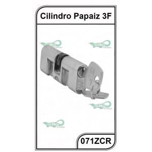 Cilindro Fech. Residencial 3F Papaiz C300 - 071ZCR