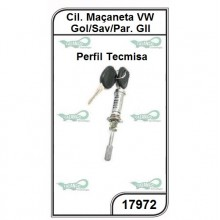 Cilindro da Maçaneta VW Gol, Parati e Saveiro GII Perfil Tecmisa - 17972