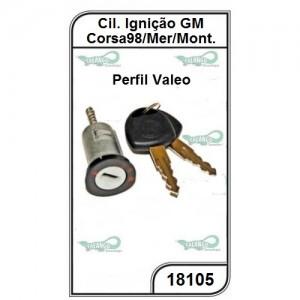 Cilindro de Ignição GM Corsa 98/10, Meriva e Montana Perfil Valeo - 18105