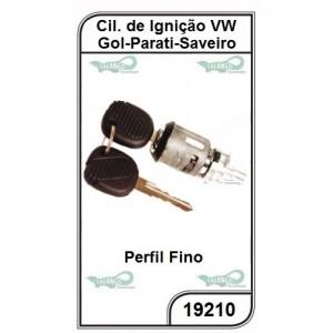 Cilindro de Ignição VW Gol, Parati e Saveiro GII Todos Perfil Fino - 19210