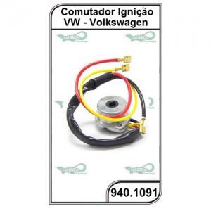 Comutador VW Brasília, Variant, TL e TC - 940.1091