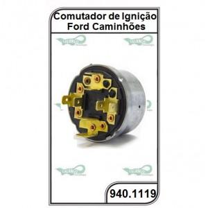 Comutador Ford Ônibus 16-180 CO, 16-210 CO  Ford - Caminhão Cargo - 940.1119