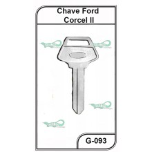 Chave Gold Ford Corcel II G 093