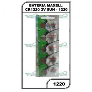 BATERIA MAXELL CR1220 3V 5UN - 1220
