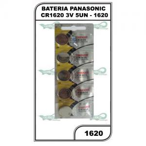 BATERIA PANASONIC CR1620 3V 5UN - 1620