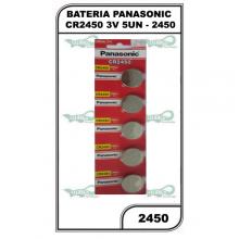 BATERIA PANASONIC CR2450 3V 5UN - 2450