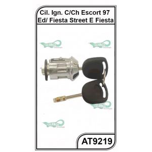 CiIindro de Ignição Ford Escort, Fiesta, Courier e KA c/ Chave - AT 9219