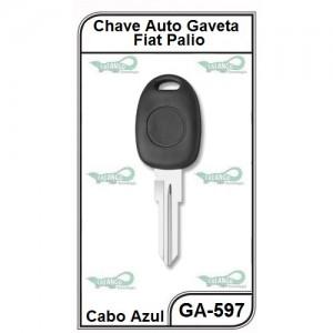 Chave Gaveta Fiat Palio com Tampa - GA-597