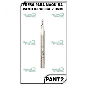 FRESA PARA MAQUINA PANTOGRAFICA 2.0MM - PANT2