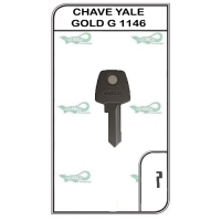 CHAVE YALE GOLD G 1146